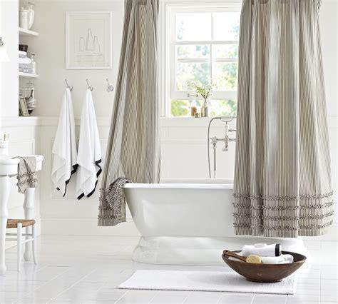 Pottery Barn Bathroom by Clean White Bathroom