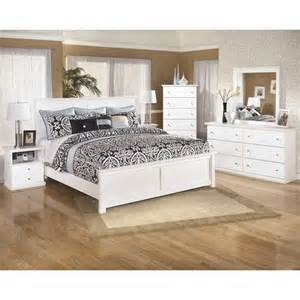 ashley bostwick shoals 6 piece wood king panel bedroom set