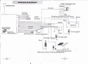 Quality Car Alarm Remotes Siren Shock Sensor Central Lock Kit  G11  1yr Warranty