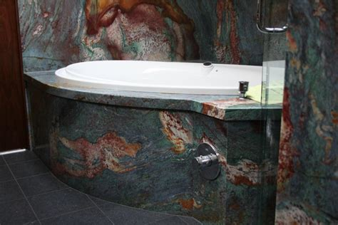 marble vanities sinks showers tub decks center