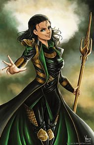 Lady Loki Art