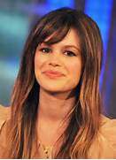 Sweet Long Straight Ha...Rachel Bilson Hair Bangs