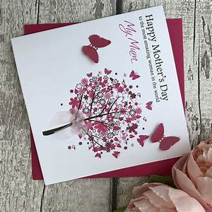 Mothers Day Cards - Personalised Handmade Mothers Day ...