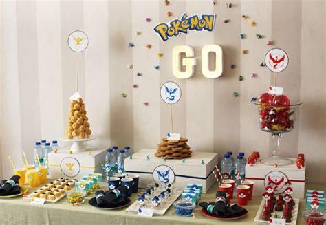 deco cuisine boutique une décoration d anniversaire pokémon go imprimable gratuit
