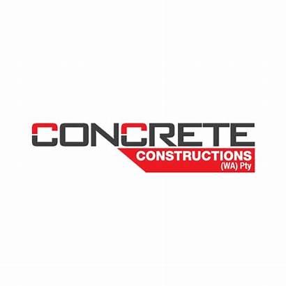 Concrete Constructions Wa Logos Web Graphic Portfolio