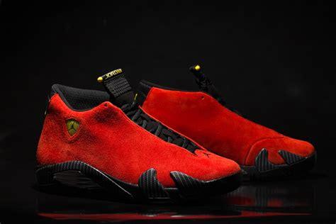 air jordan  ferrari arriving  retailers sneakernewscom