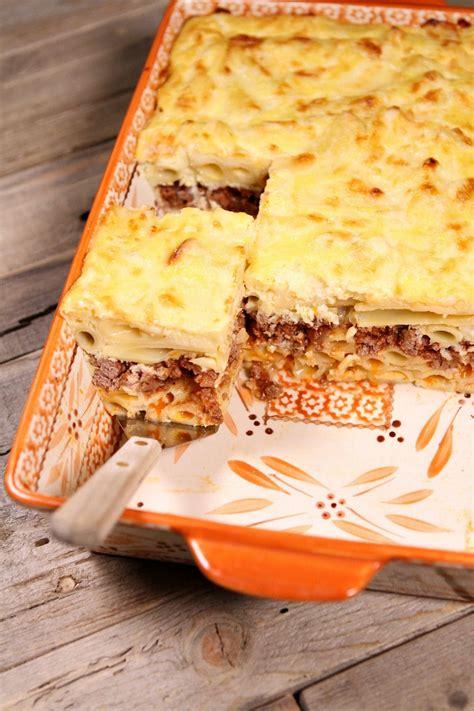 pastitsio greek lasagna recipe girl