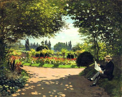 Jardin De Colette Sainte Beuve by Un Claude Monet En Voyage Mah