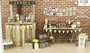 Vintage Rustic Birthday Party - A&K Lolly Buffet