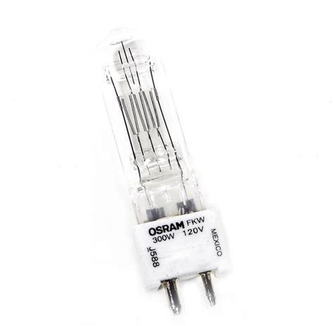 arri 300w fresnel bulb l fkw 120v barndoor lighting
