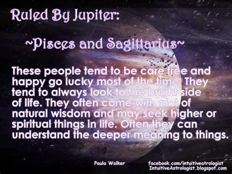 Pisces And Sagittarius Ruled By Jupiter
