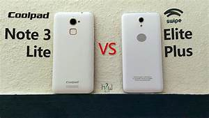 Swipe Elite Plus Vs Coolpad Note 3 Lite