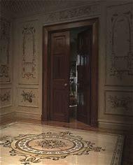 Entryway Tile Floor Medallion