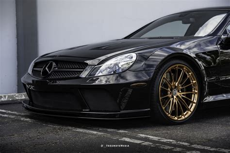 mercedes benz sl amg black series   set  rims