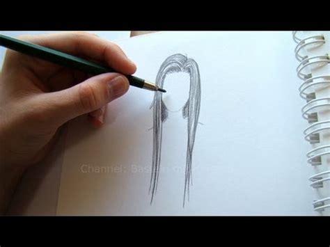 zeichnen lernen haare zeichnen youtube