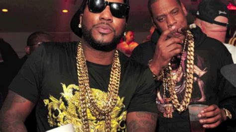 """30"""" gold cuban link chain necklace jay-z young jeezy rick"""