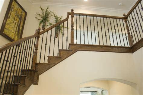 Home Interior Railings : Wrought Iron Stair Railing Home