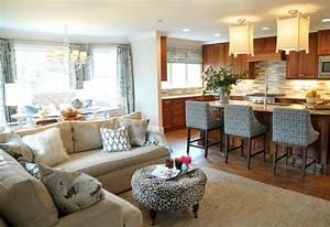 Open concept kitchen living room design ideas sortra for Open concept living room decorating ideas