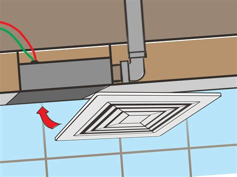 how to install bathroom fan how to install a bathroom fan with pictures wikihow