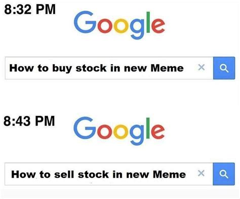 Memes Google - buy sell google 11 minutes later know your meme