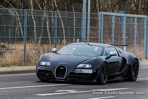 Bugatti Veyron Spotted In Wolfsburg, Germany On 03/18/2016