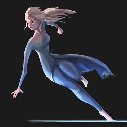 Frozen Elsa Character Concept Artstation Deviantart Action