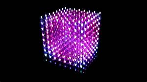 My Music Cube   3d Rgb Color Led Cube 8x8x8