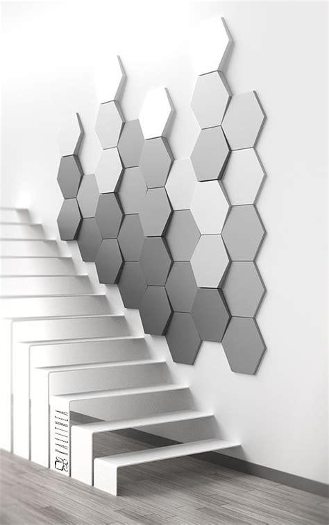 hexagon wall panel kalithea pl id 233 es maison en 2019 decoration mur carrelage faience