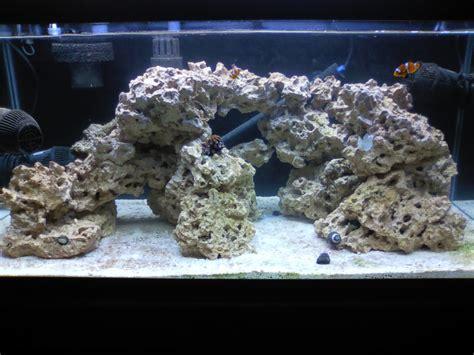 live rock aquascaping ideas new to sw 40br fowlr build page 7 aquarium advice
