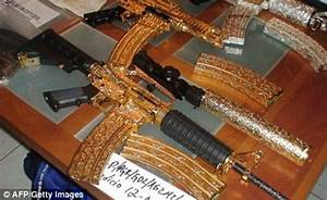 Bling guns from Mexico