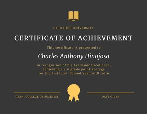 Anti Money Laundering Certificate Choice Image Editable Certificate Of Success Letter Recognition Certificate