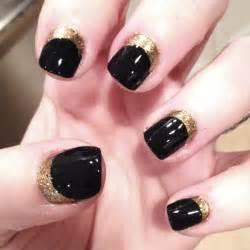 Tiffanyd nail art tutorial navy gold quot ruffian inspired