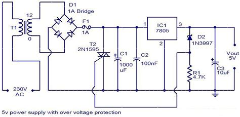 Power Supply With Overvoltage Protection