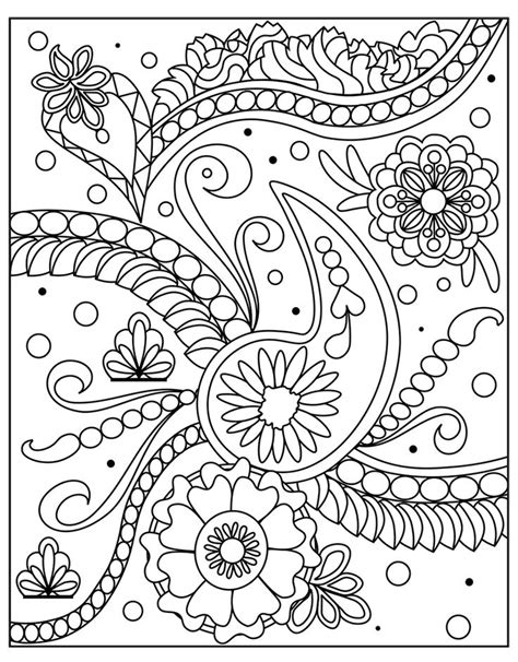 images  adult colouringpaisley designs  pinterest dovers mandala coloring