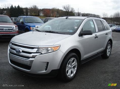 2013 Ford Edge Se by Ingot Silver Metallic 2013 Ford Edge Se Ecoboost Exterior