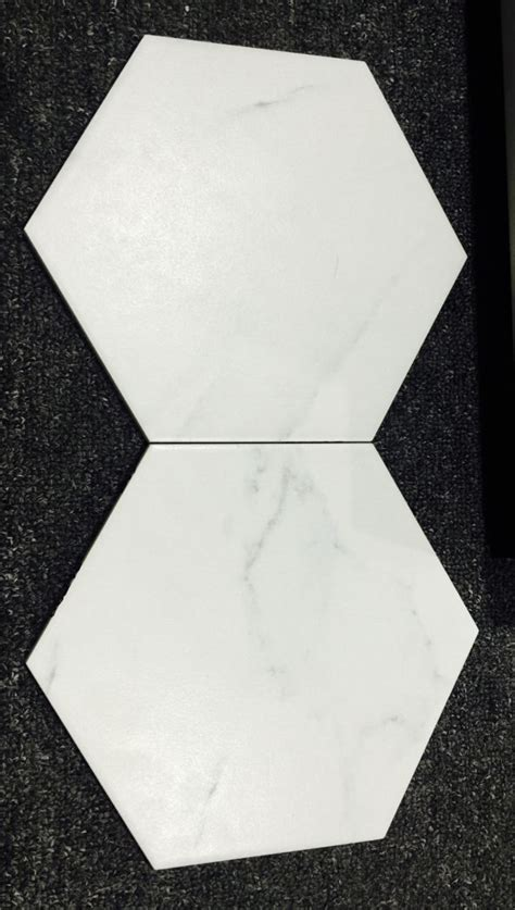 carrara matt hexagon tile gallery