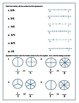 common core  grade fraction study guide  test