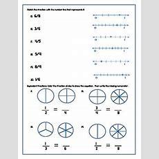 3rd Grade Fraction Test  Kidz Activities