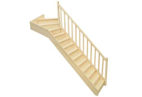 escalier quart tournant haut  cm escalier sapin quart