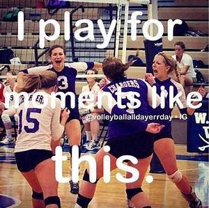 Volleyball quotes | Volleyball | Pinterest | Brooke d ...