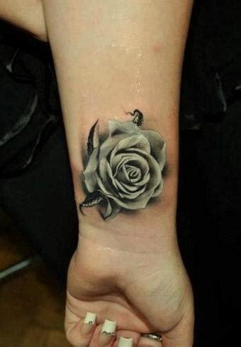 roza biala tatuaz na tatuaze zszywkapl