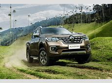 New Renault Alaskan pickup revealed official pictures