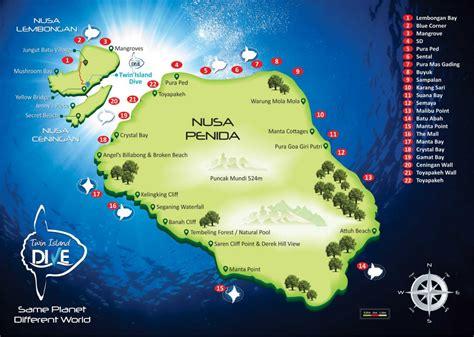 lembongan diving sites twin island dive lembongan