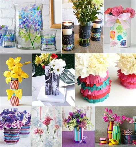 flower vase ideas 35 creative diy flower vase ideas for your home