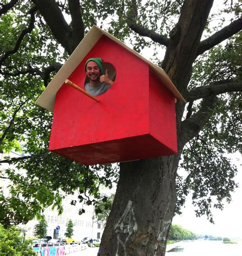 i made 3500 birdhouses from scrapwood to keep birds in