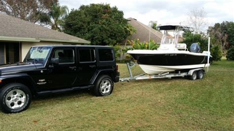 Tow A Boat With Jeep Wrangler Unlimited by Towing With A 2014 Jeep Wrangler The Hull
