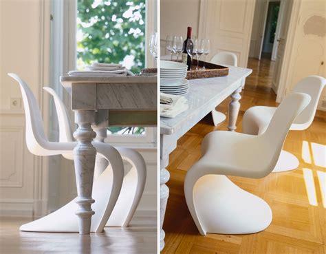 Sedia Panton Prezzo Vitra Sedia Panton Chair Bianco Polipropilene