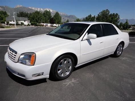 find   cadillac deville dts loaded heated steering wheel air cond seats   orem