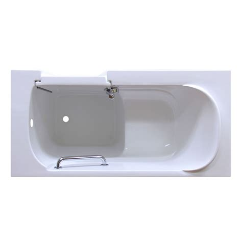 Tub Therapy by Care Series 2653 Soaker Walk In Bathtub By American
