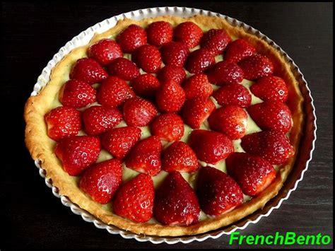 tarte fraise pate brisee tarte aux fraises et cr 232 me matcha p 226 te sabl 233 e au beurre frenchbento